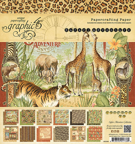 Graphic 45 Safari Adventure Paper Pads