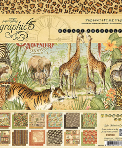 Graphic 45 Safari Adventure Paper Pads