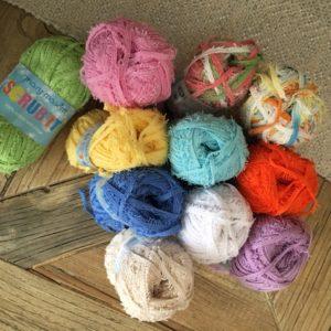 mary maxim scrub it yarn