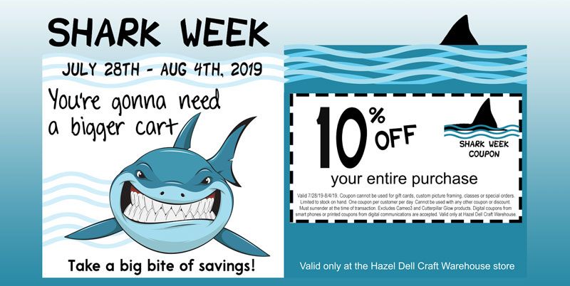 Shark Week in Hazel Dell @ Hazel Dell Location | Beaverton | Oregon | United States