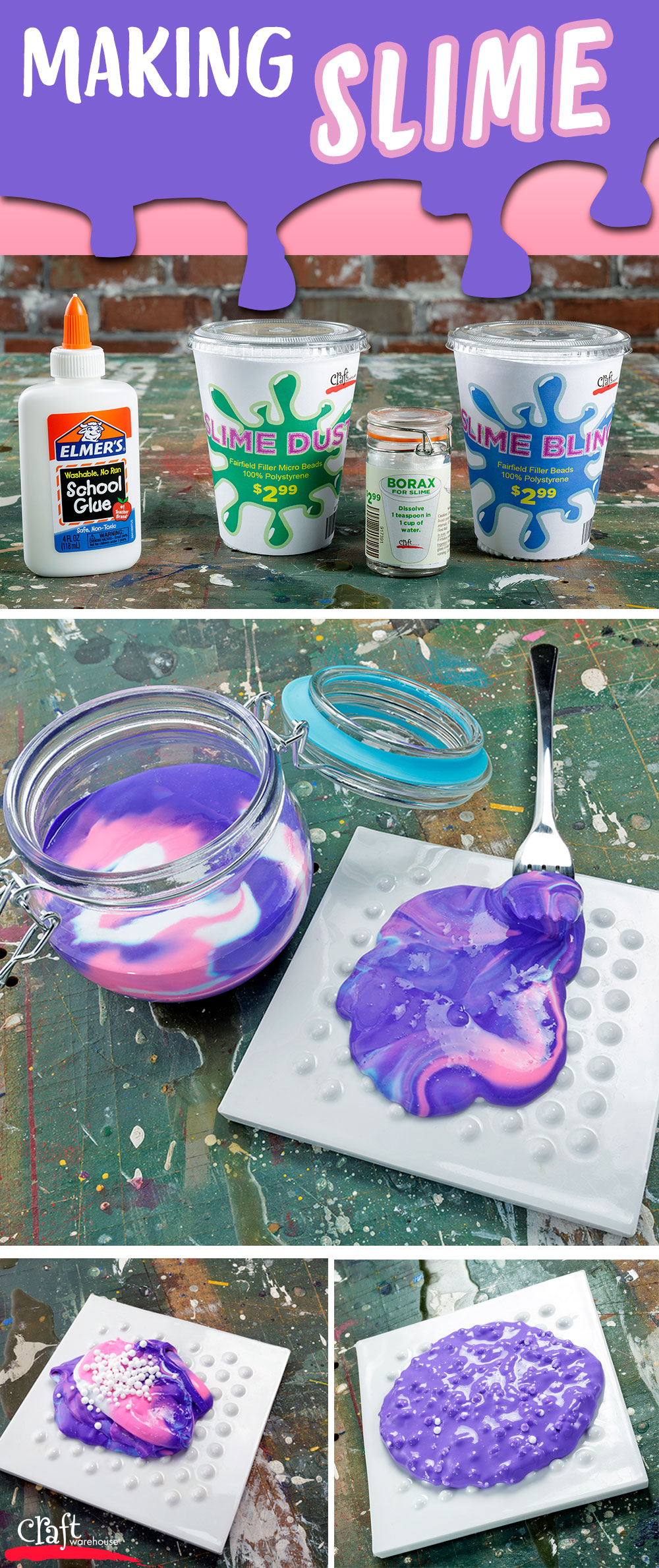 Slime recipes craft warehouse a making slime at craft warehouse ccuart Images