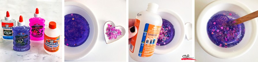 Steps to Make Valentine Slime