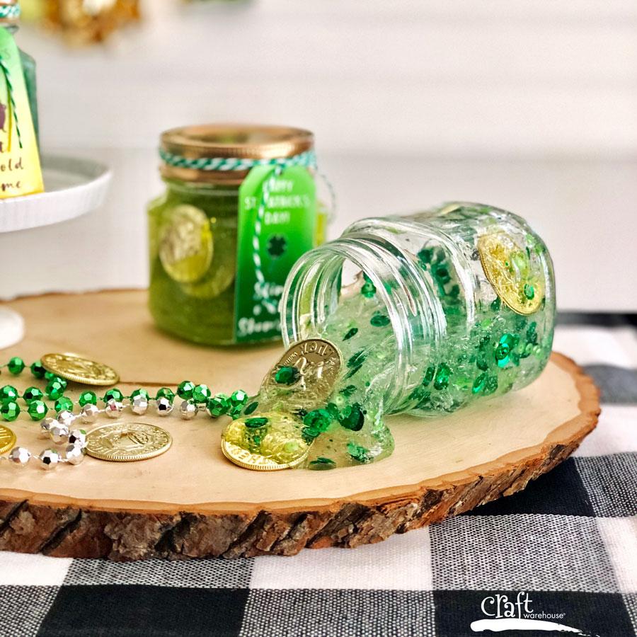 Recipe for St Patricks Day Slime
