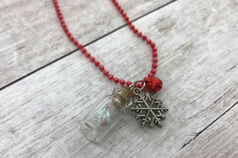 Snow Globe Vial Necklace @ Vancouver Location | Vancouver | Washington | United States