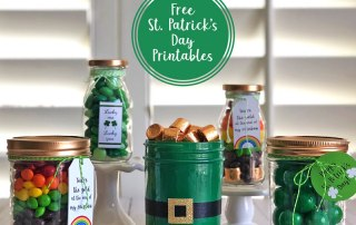 St. Patrick's Day Free Printable Labels