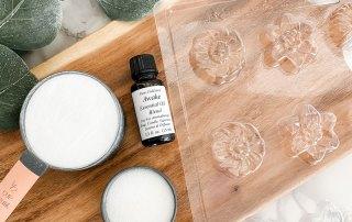 DIY Aromatherapy Shower Melts