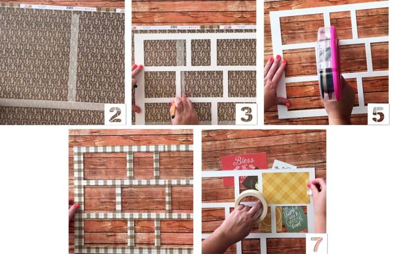 Directions on creating a Photo Collage Tray from Craft Warehouse