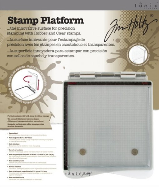 Tim Holtz Stamp Platform at Craft Warehouse