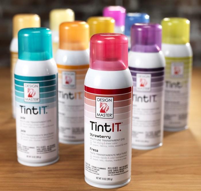Tint it spray Design Master