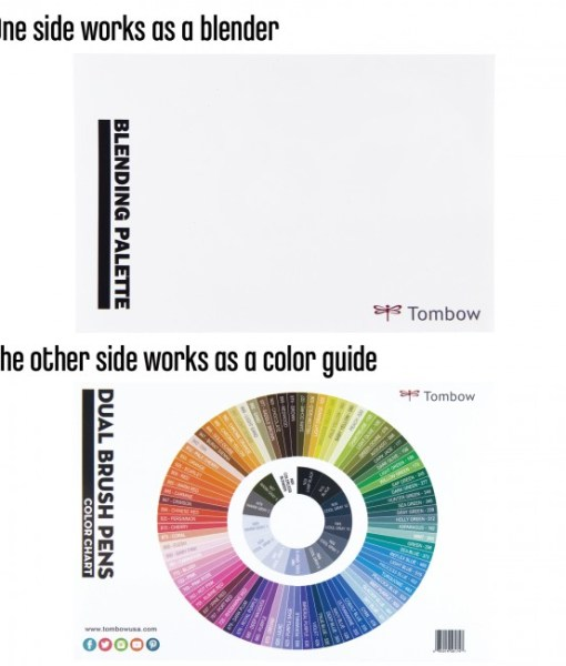 The Tombow Color Palette