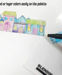 Blending Colors is easy with Tombow Markers