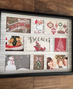 Serving Tray Photoplay Think to remember christmas