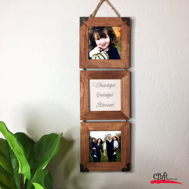 Make this: Trio Frames Wall Hanging | Craft Warehouse
