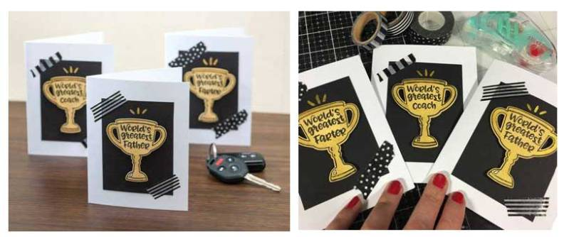 Trophy Card Make & Take @ All Locations | Vancouver | Washington | United States