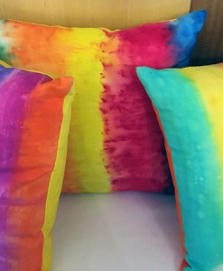 Dye pillows with Unicorn Spit available at Craft Warehouse