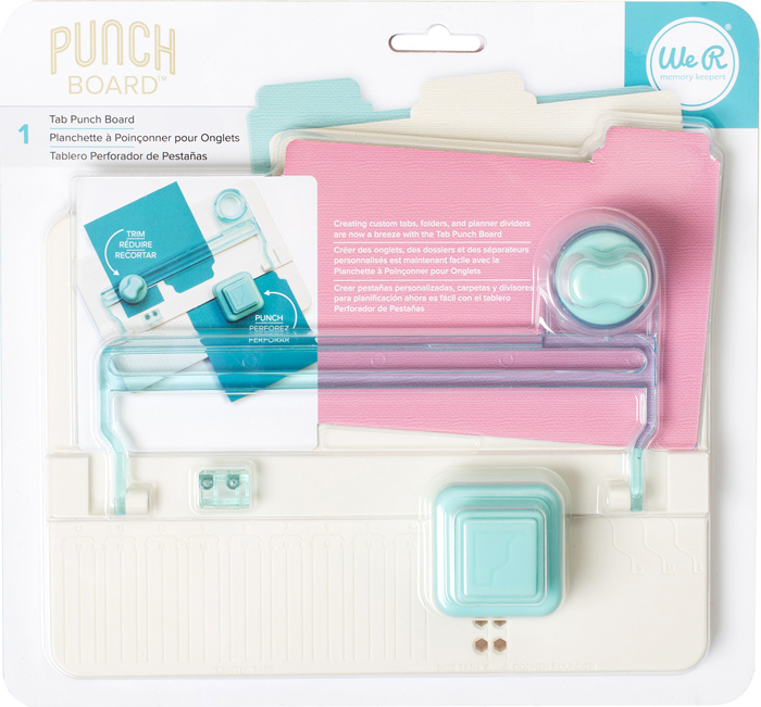 We R Memory Keepers Tab Punch Board available at Craft Warehouse