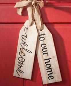 Large Wood tags