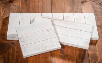 whitewashed wood board diy