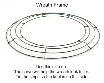 Wire Wreath Frame 16""