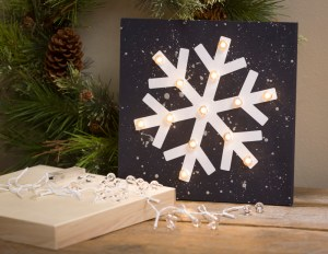Heidi Swapp Marquee Love lights snowflake sign