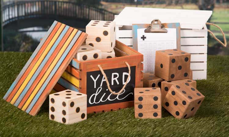 Yardzee Dice Set @ Salem Location | Meridian | Idaho | United States