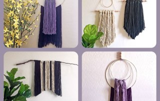 4 Easy Yarn Wall Hangings from Craft Warehouse