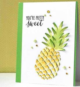 You're Sweet Pineapple Card