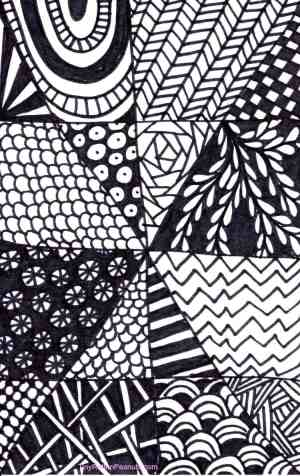 zentangle easy drawing quick tangle patterns drawings craftwhack tangled zen draw paper sharpie projects project piece kid designs zentangles doodle
