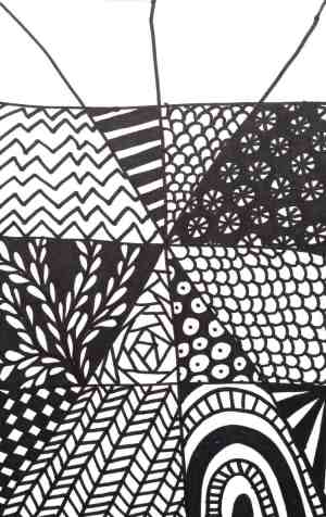 easy drawing tangle zentangle patterns quick drawings craftwhack project club super beginners