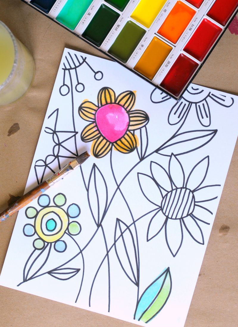 Awesome New Coloring Pages For Adults Craftwhack