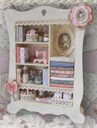 Mdf Cabinet of Curiosities - Button-It & Craftwood Creations