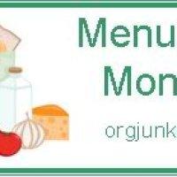 {Menu Plan Monday} March 10, 2014