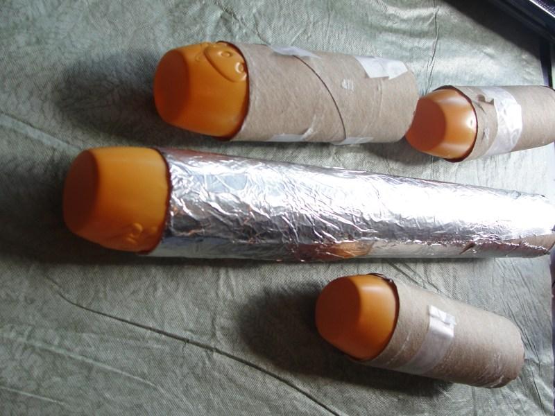 Toilet Paper Roll Rocket Ship Craftyaroundthehouse