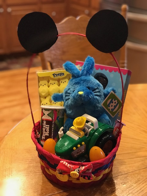 MICKEY MOUSE EASTER BASKET| ALYSON RAYNES