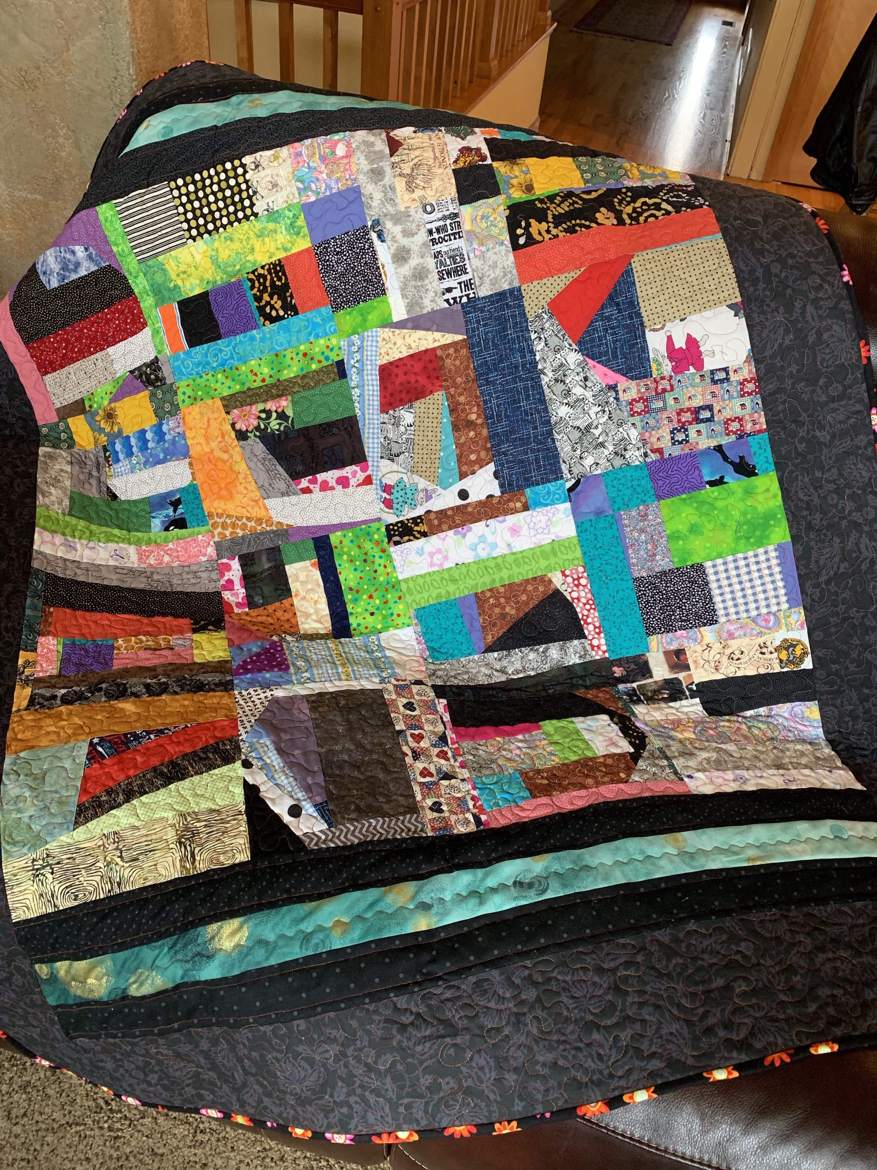 SCRAP QUILT SERIES | THE CRAFTY AUTHOR