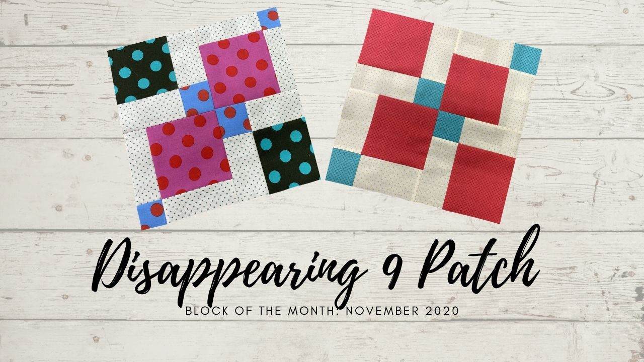 DISAPPEARING 9 PATCH