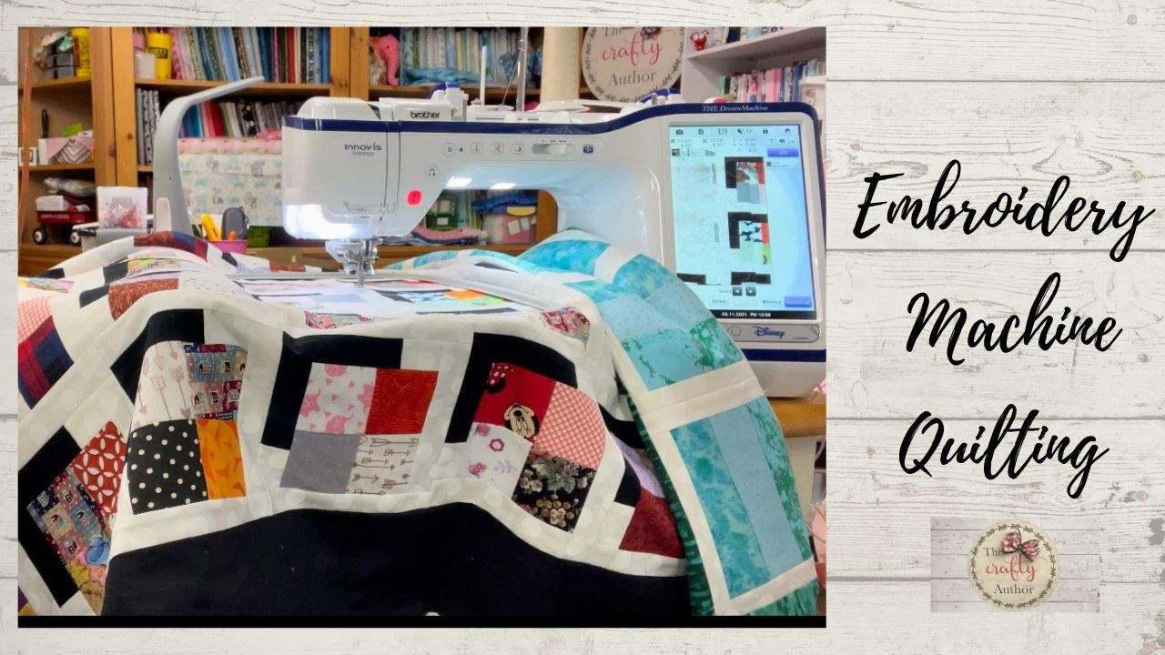 QUILTING EDGE TO EDGE WITH YOUR EMBROIDERY MACHINE