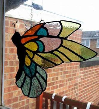 Stained GlassButterfly
