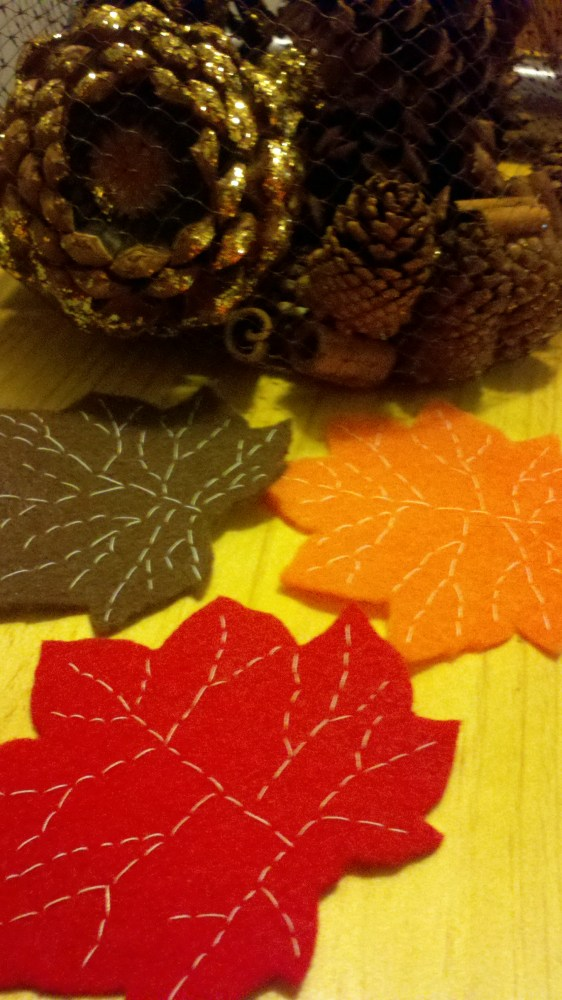 Fall Felt Leaves (5/5)