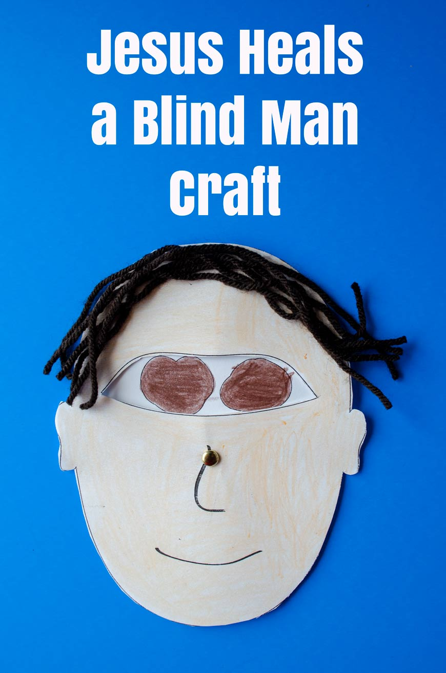 hight resolution of Jesus Heals a Blind Man Craft - Crafty Catholic Moms