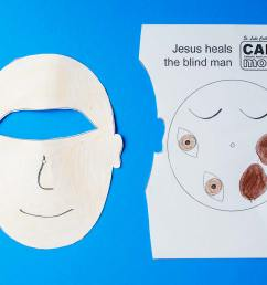 Jesus Heals a Blind Man Craft - Crafty Catholic Moms [ 1272 x 1920 Pixel ]