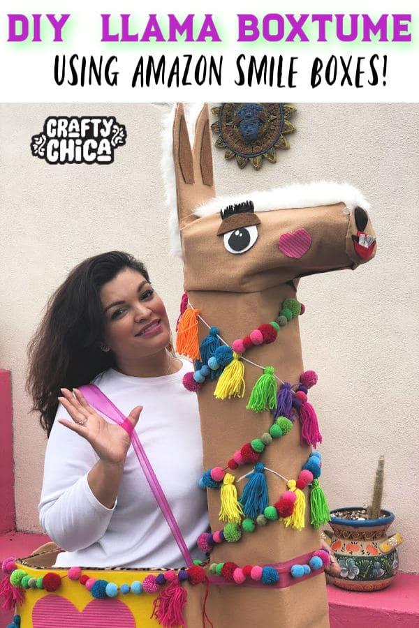 Llama costume!