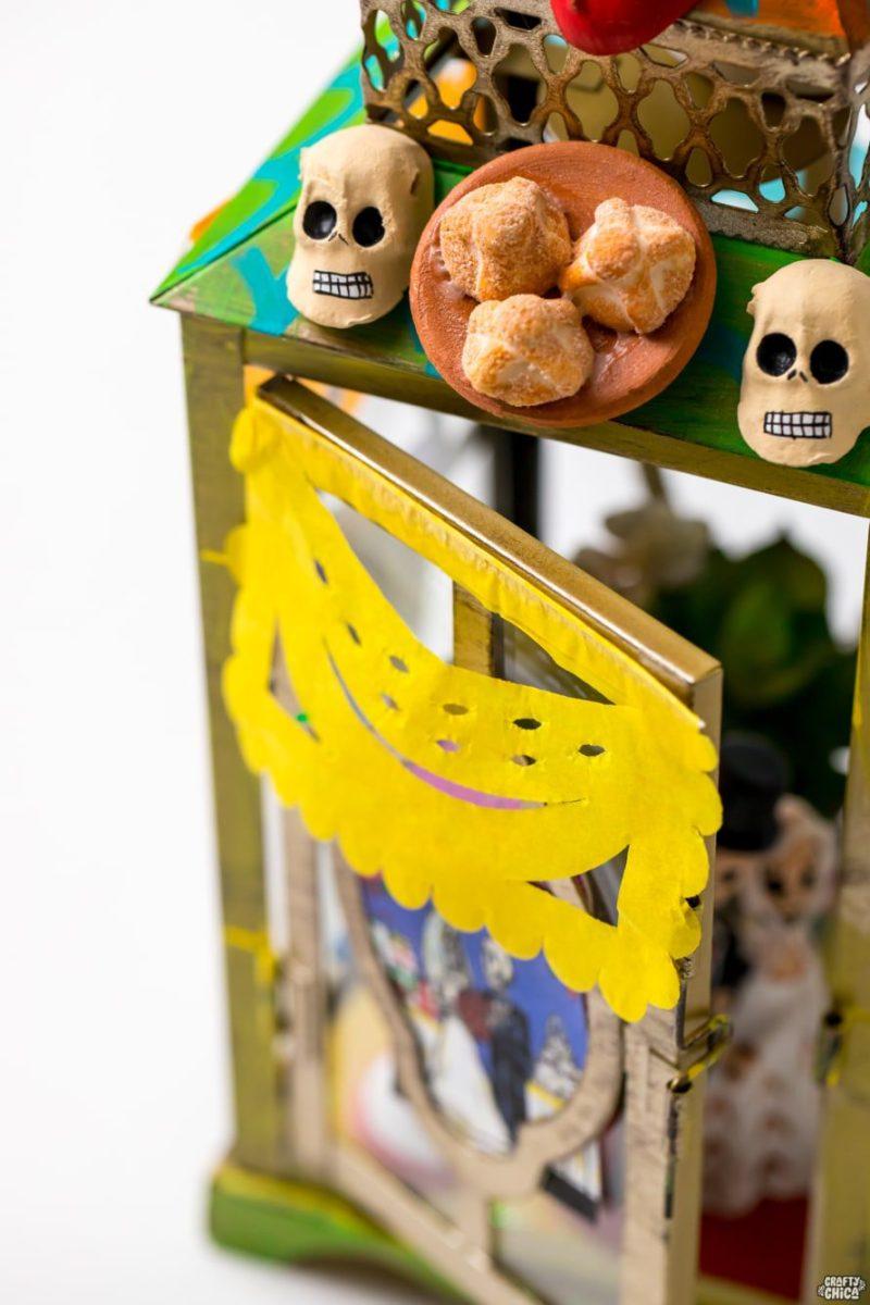 Day of the Dead shrine idea.