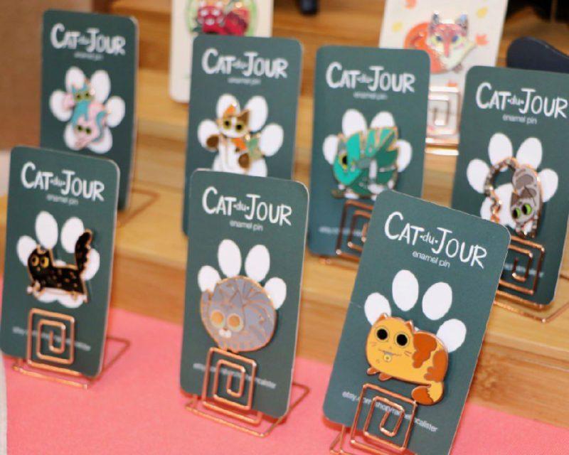 Rachel McAlister - 10 CatCon Creators #craftychica #catcon #catcrafts #catmakers