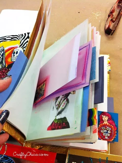 Using Text From Book Pages In Art Journals