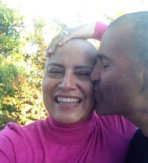 Michele and her husband!