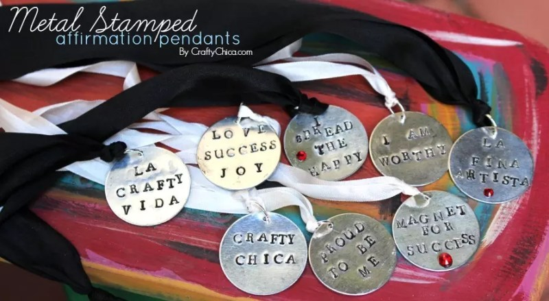 Sign up for my daily digest and you'll be entered to win one of these necklaces! https://craftychica.com/contact/crafty-chica-daily-email/?subscribe=success#501