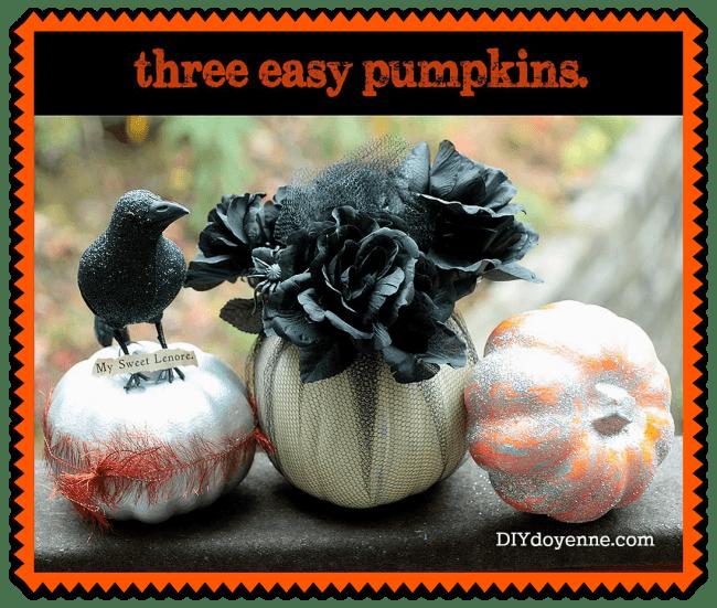 Three-Easy-DIY-Pumpkins