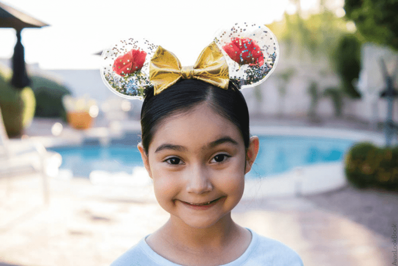 DIY Mickey Ears for Beauty and the Beast