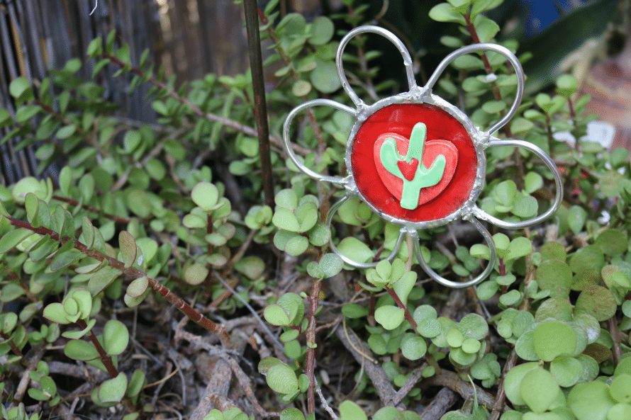 soldered button plant pokes
